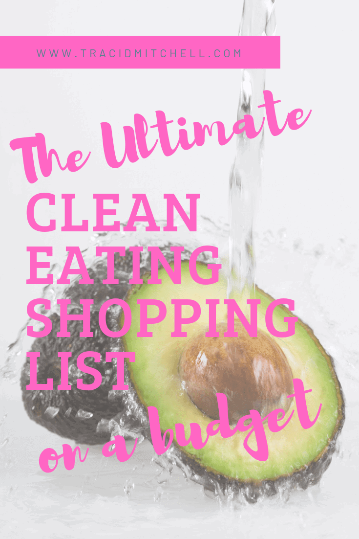 clean eating shopping list on a budget
