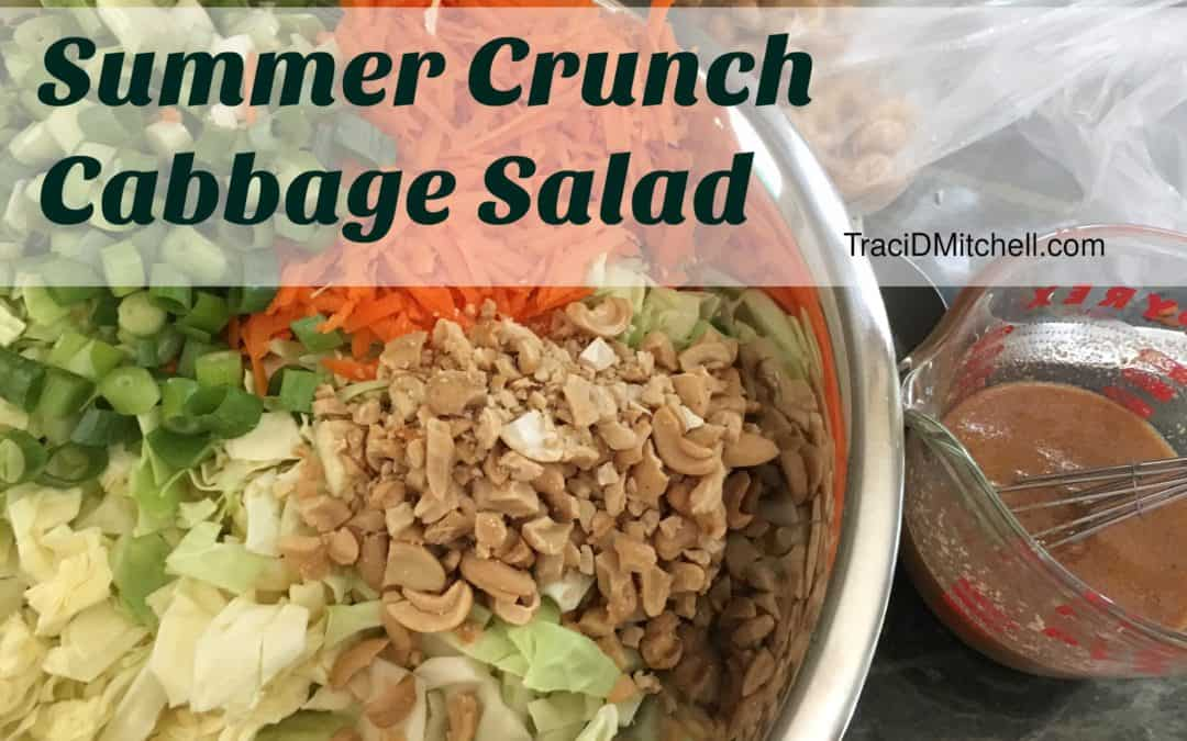 Summer Crunch Cabbage Salad