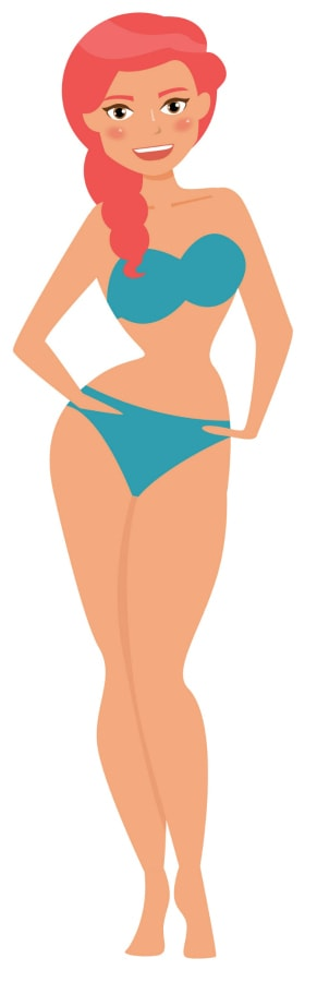 Hourglass Body Shape Type
