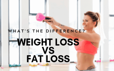 What's the Difference Between Weight Loss and Fat Loss?