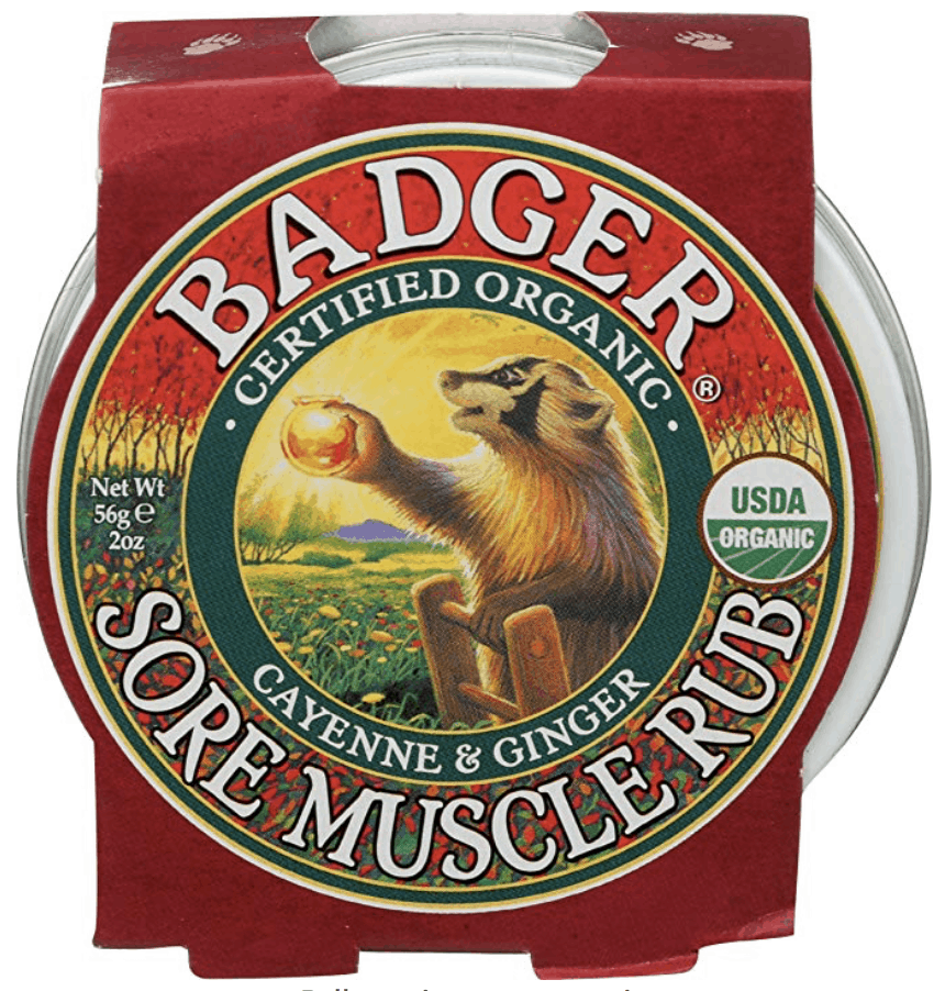 Badger Sore Muscle Rub Great Gift Idea