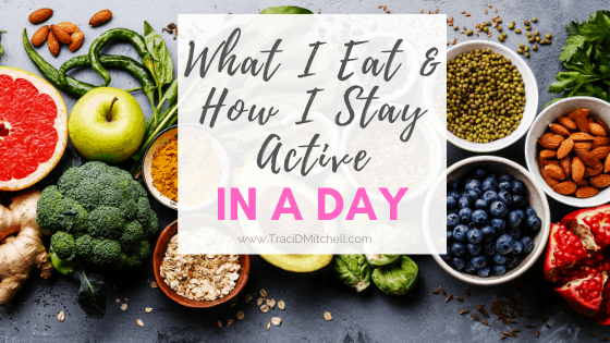 What I eat in a day and how I stay active (including my workout)