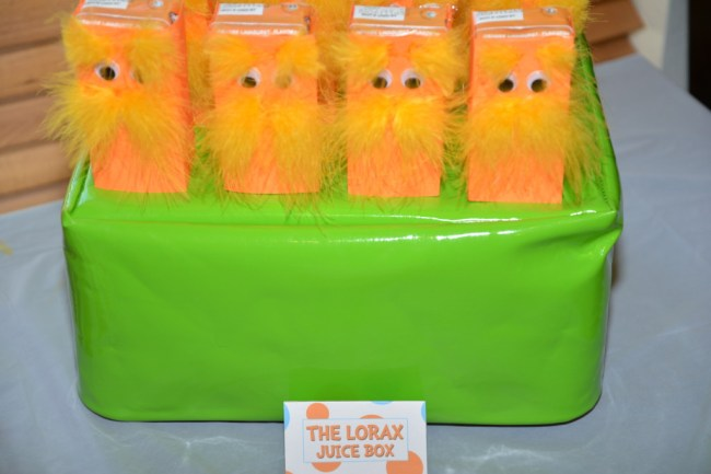The Lorax Juice Box
