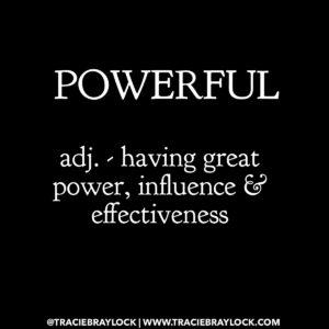 I Am Powerful | Tracie Braylock