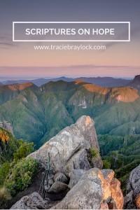 Scriptures on Hope   Tracie Braylock