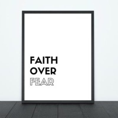 Faith Over Fear Print | Tracie Braylock