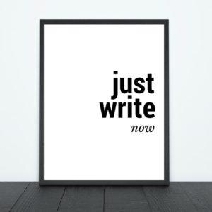 Just Write Now Print | Tracie Braylock