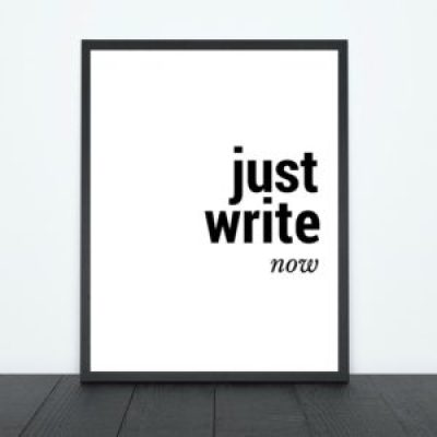 Just Write Now Print | Tracie Braylock
