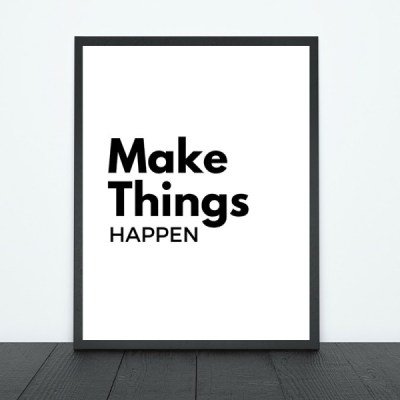 Make Things Happen Print | Tracie Braylock