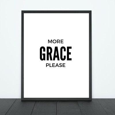 More Grace Please Print   Tracie Braylock