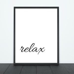 Relax Print | Tracie Braylock