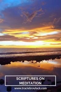 Scriptures on Meditation | Tracie Braylock