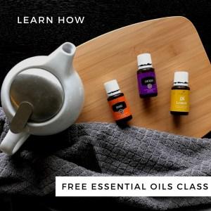 Free Essential Oils Class | Tracie Braylock