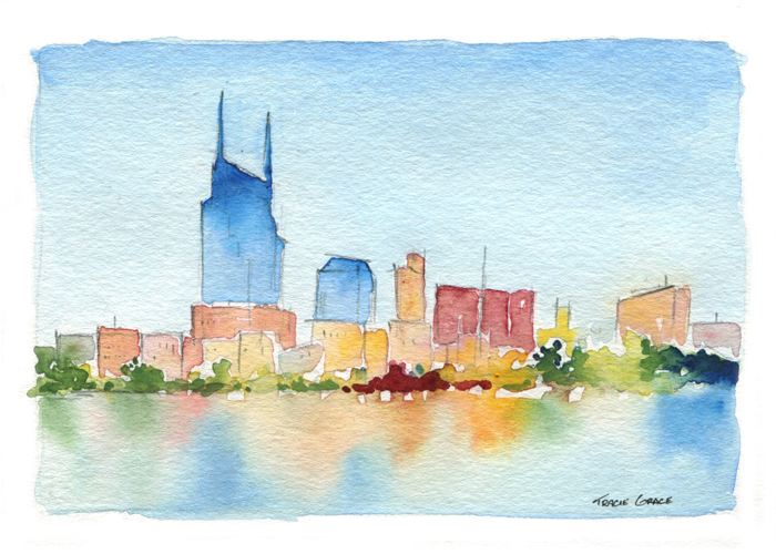 Upcoming Watercolor Classes: August 2016