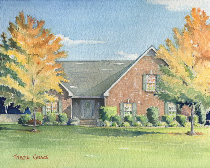 House Portrait – Willow Lake