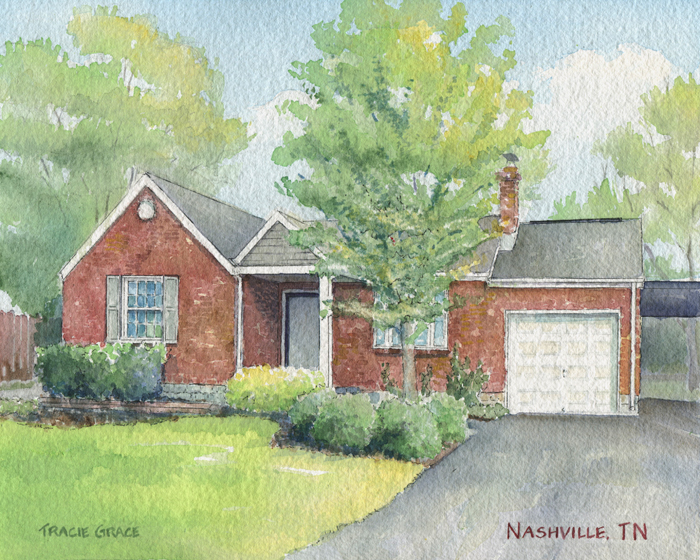 House Portrait – Nashville, TN