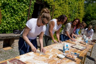 Italian Adventures: Cooking at a Castle