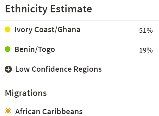 "Ivory Coast Ghana"" Also Describes Liberian DNA Tracing African Roots"