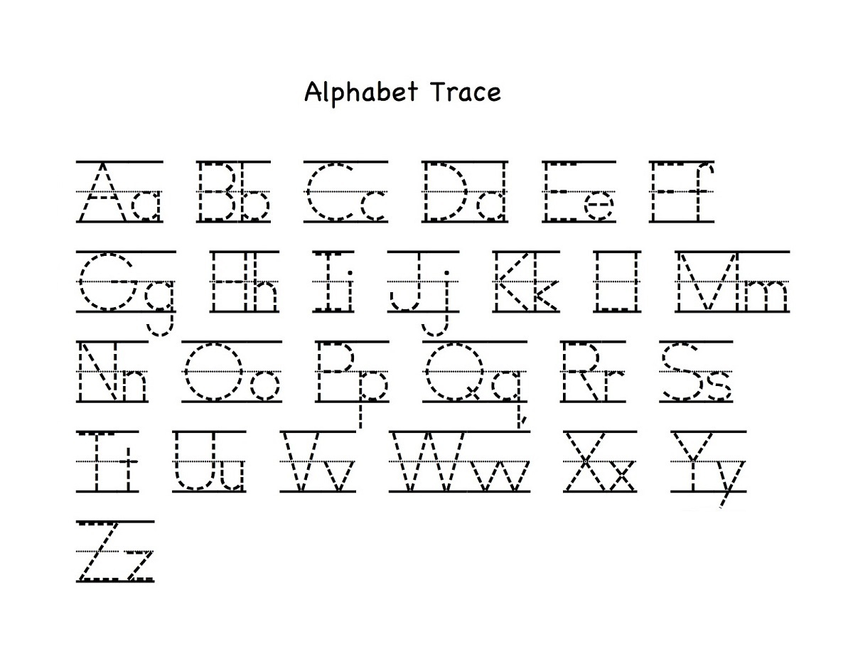 Free Printable Alphabet Letters Upper And Lower Case