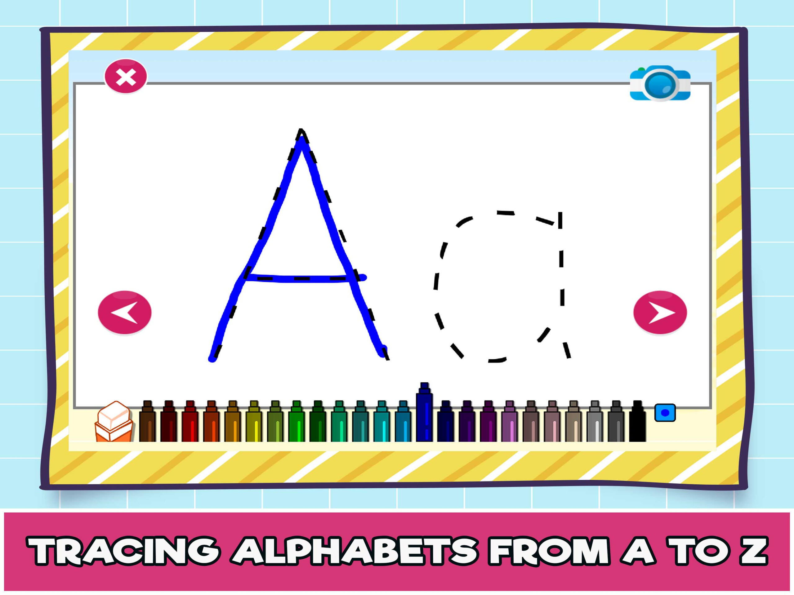 Tracing Letters Online Games