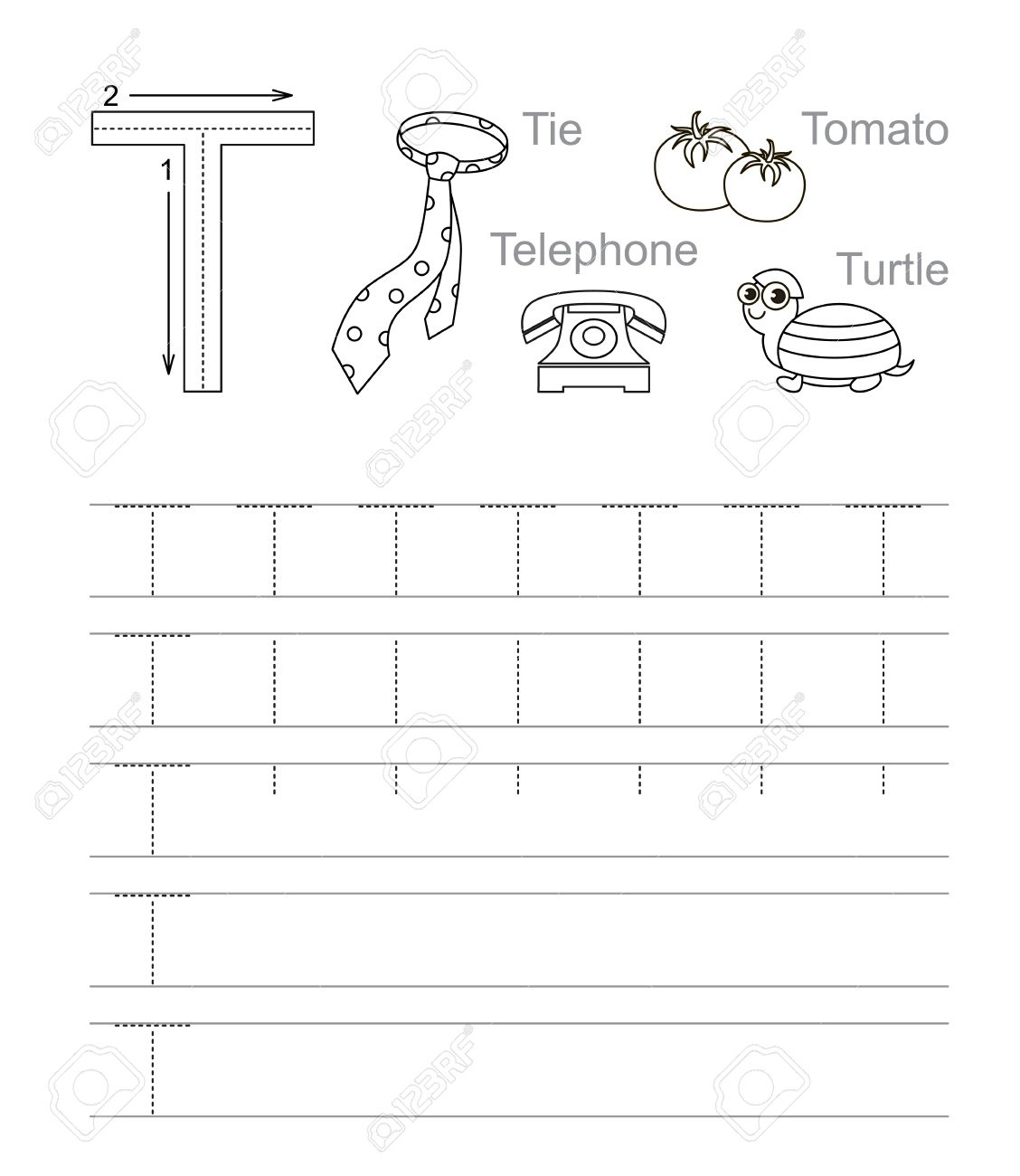 Creating Tracing Letters Worksheets