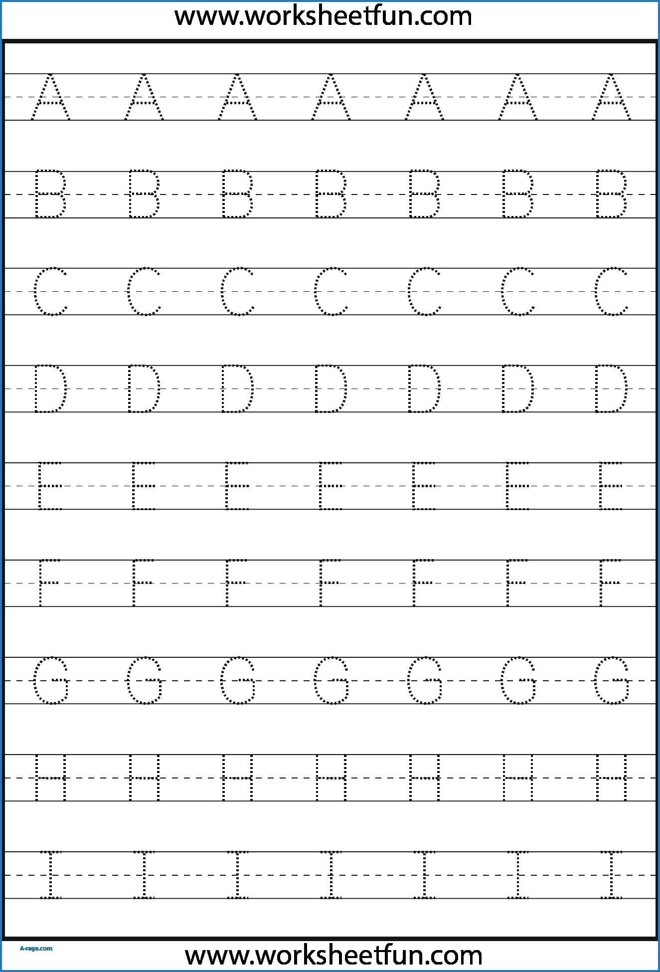 Free Printable Tracing Letters Of The Alphabet