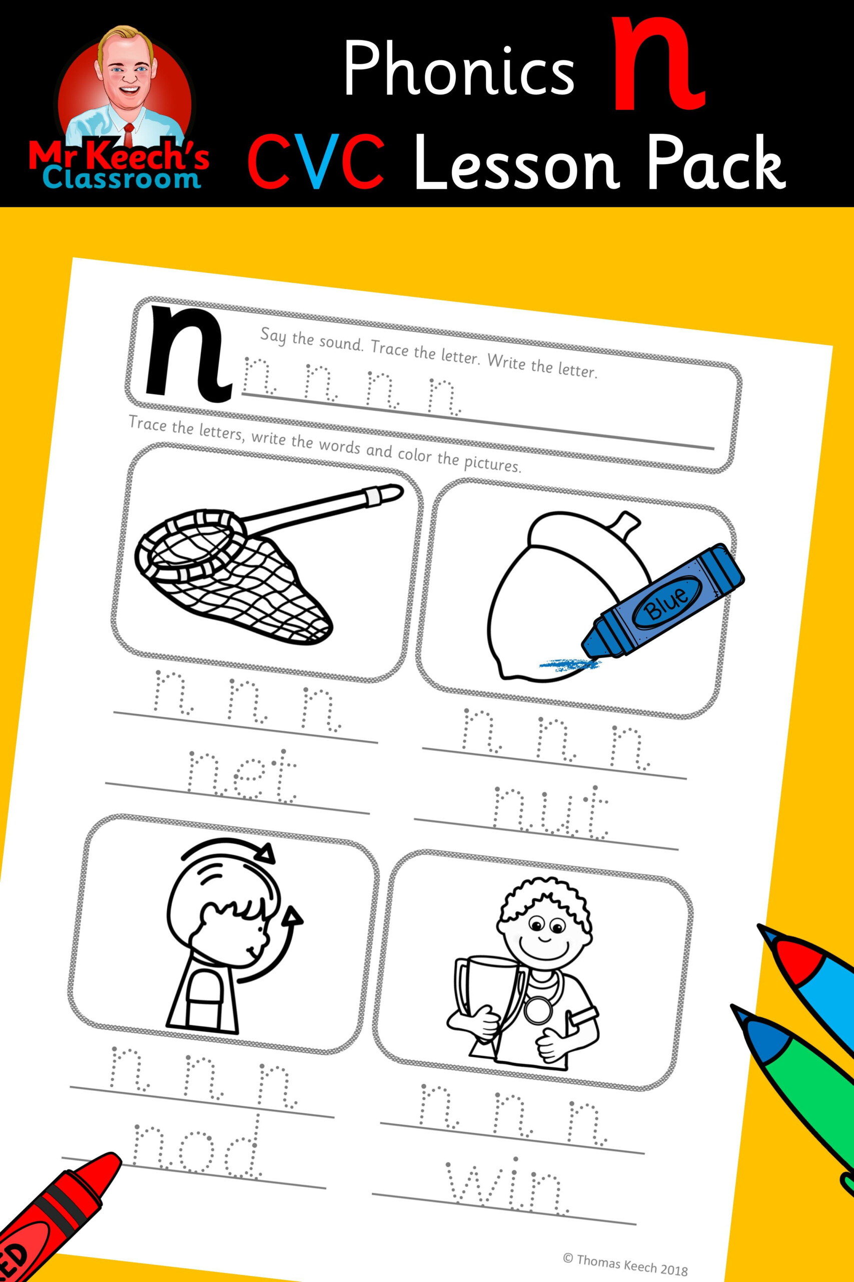 Tracing Letters Jolly Phonics