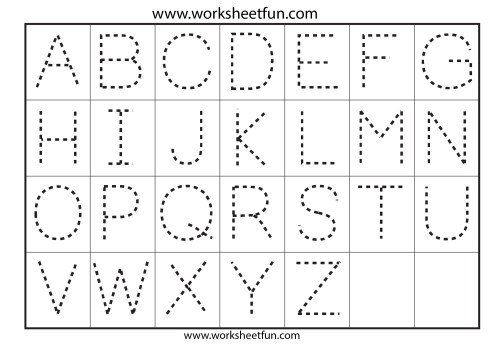 small resolution of Abc Preschool Tracing Worksheet For M   Printable Worksheets and Activities  for Teachers