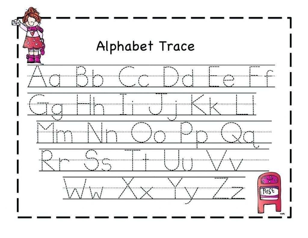 Tracing Letters Handwriting Worksheets