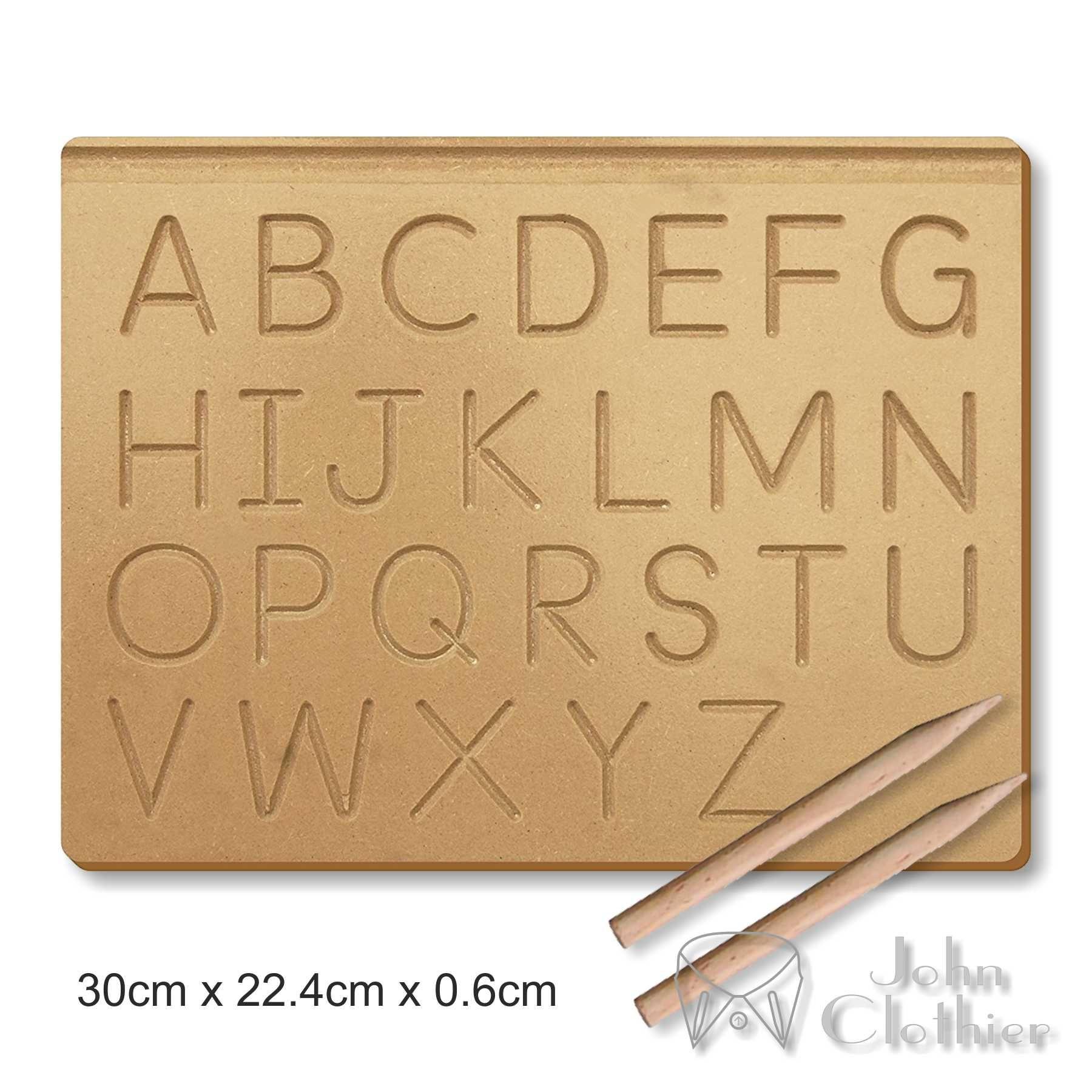 Montessori Tracing Letters