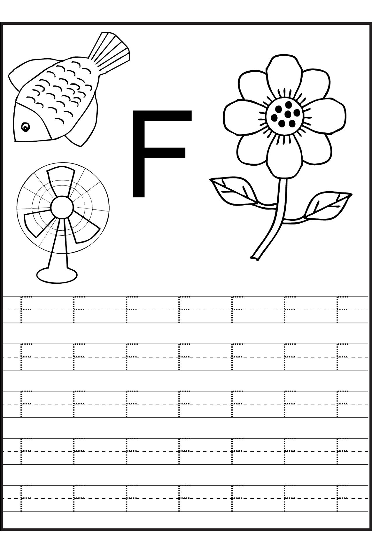 Tracing Letter S Worksheets For Kindergarten