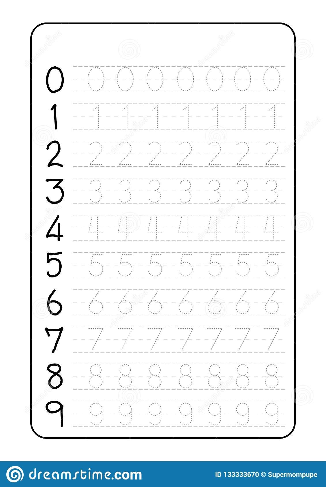 Alphabet Tracing For Kindergarten