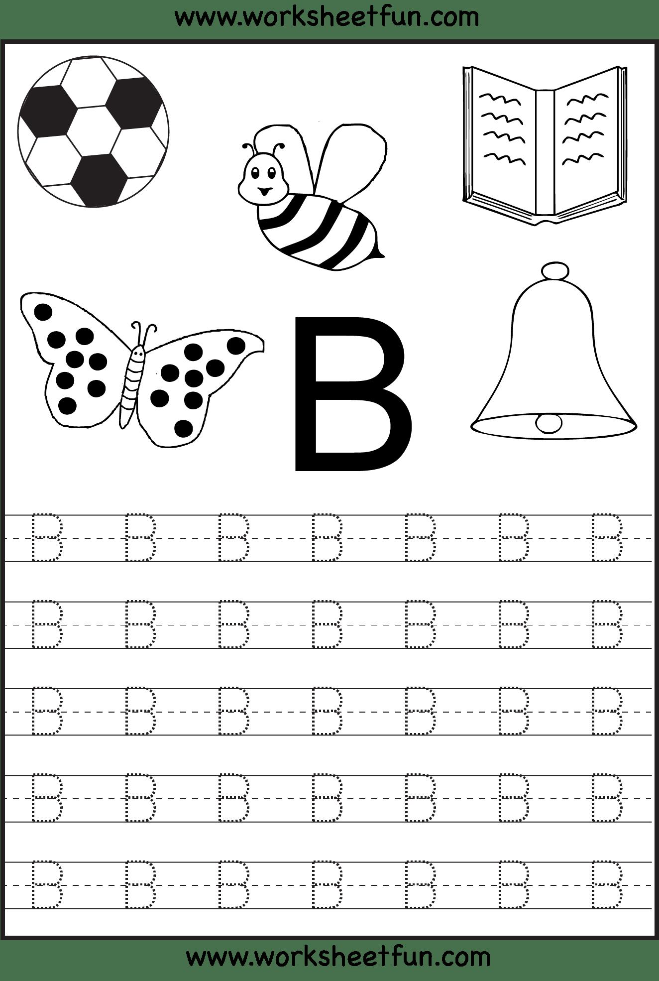 Letter I Tracing Worksheets For Kindergarten