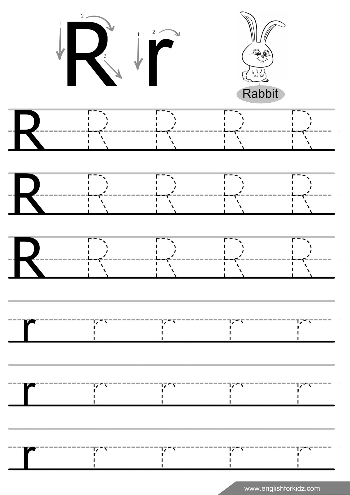 Letter A Tracing Worksheets