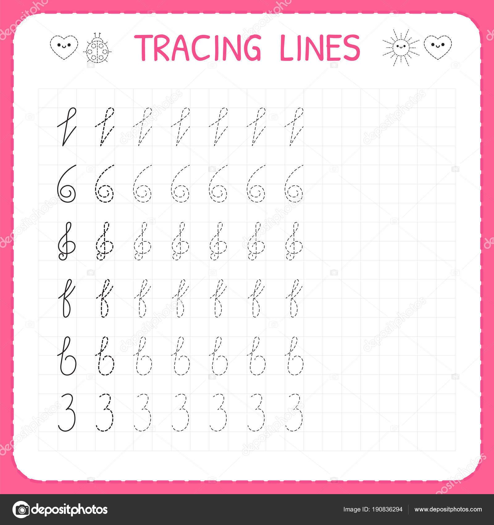 Tracing Lines Workbook