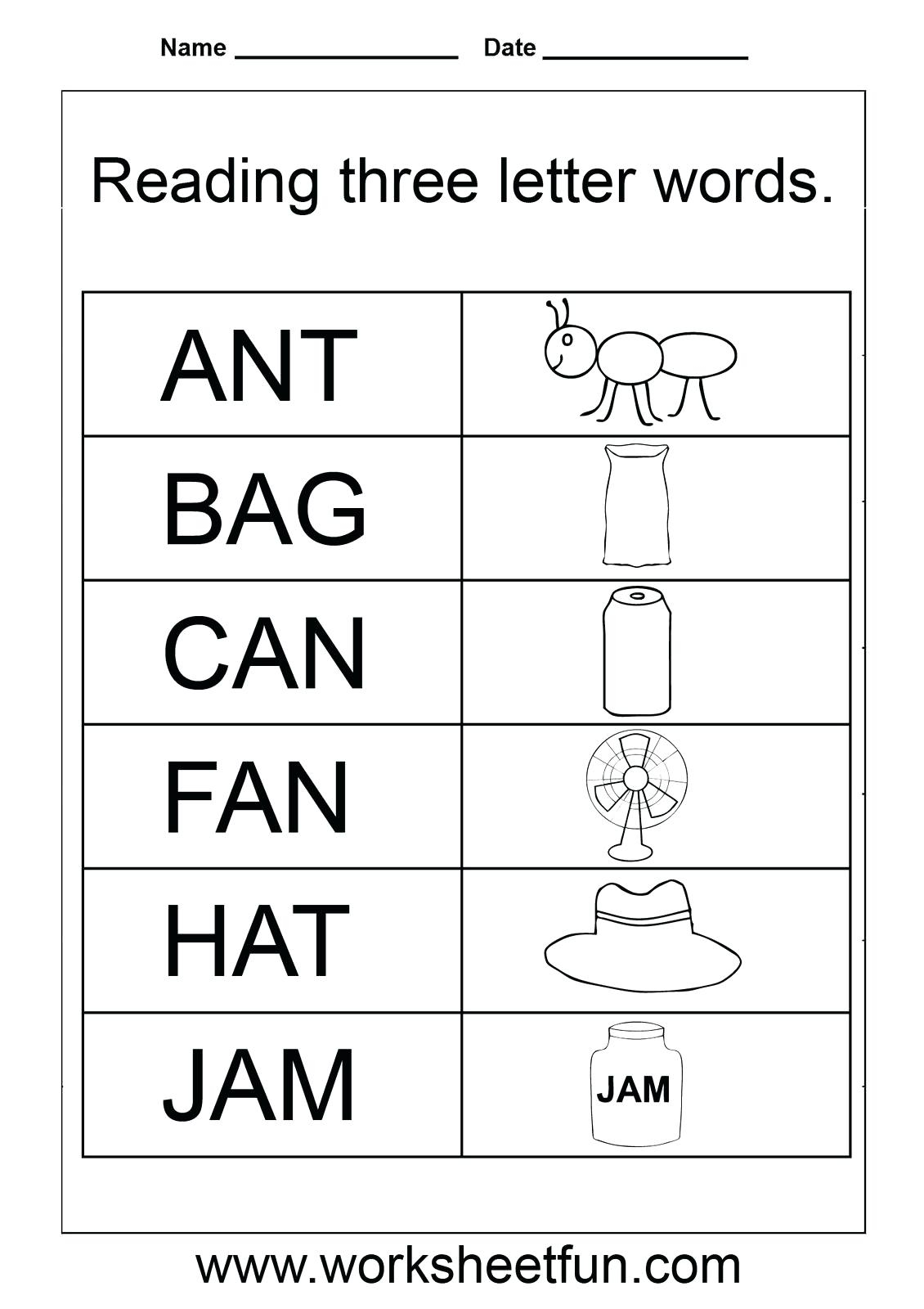 Name Tracing For 3 Year Olds