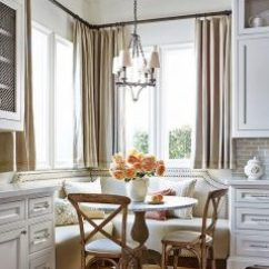 Kitchen Banquette Modern Cart Banquettes Traci Shulkin No Doubt Inspired By The Traditional Cabinets And Finishes This Corner Has A Simple Yet Elegant Approach For Lacking Space