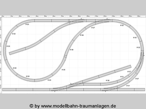 Smart HO scale track plans