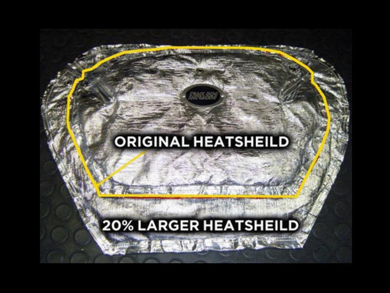 TDR Insulated Heat Shield for 9015 MX5 Miata