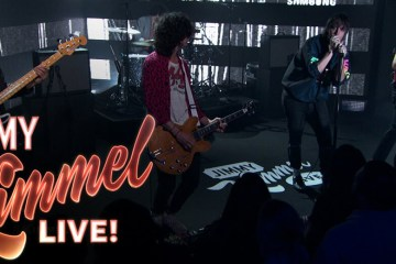The Strokes - Threat of Joy @ Jimmy Kimmel Live