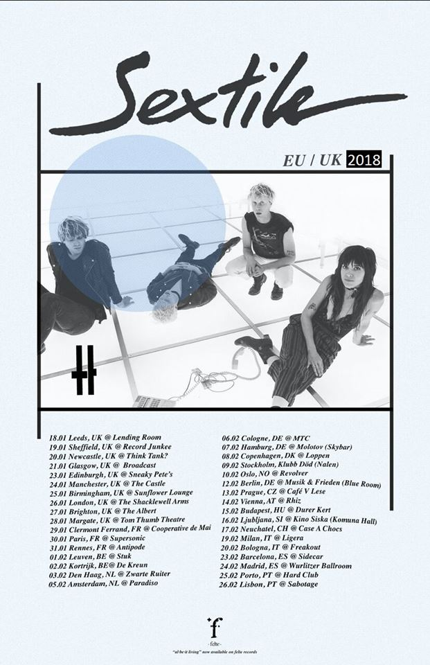 Sextile European Tour 2018