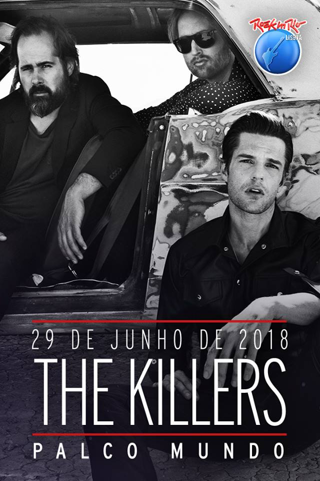 The Killers confirmados no Rock In Rio 2018