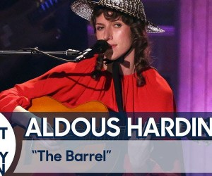 Aldous Harding at Jimmy Fallon
