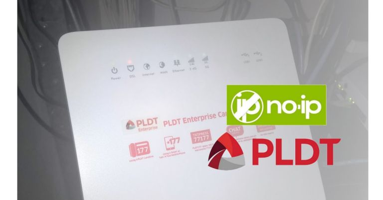 No-Ip Dynamic DNS setup in PLDT Modem