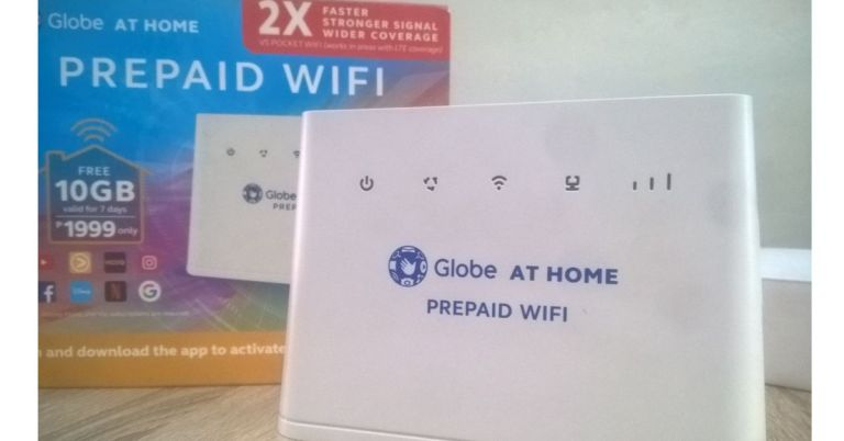 Globe at Home change WiFi password & installation guide