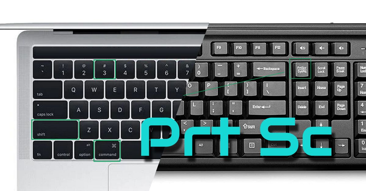 Print Screen Keys Mac Windows