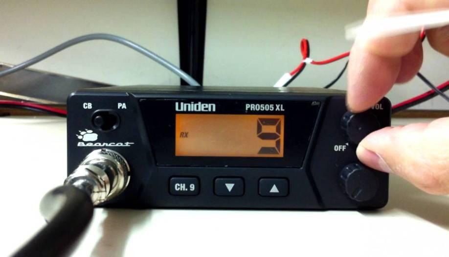 Review: Uniden PRO520XL 40-Channel CB Radio - THunt