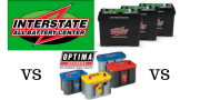 Interstate battery reviews VS. Optima battery reviews- Which is the best?