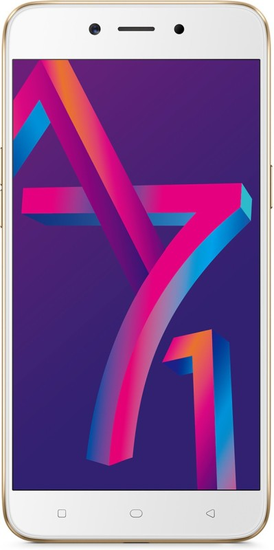 OPPO A71 New Edition (Gold, 16 GB)(3 GB RAM)
