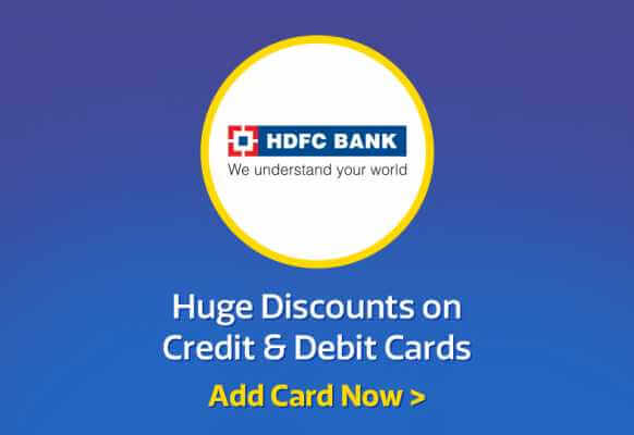 Big Billion Day HDFC Card Offer